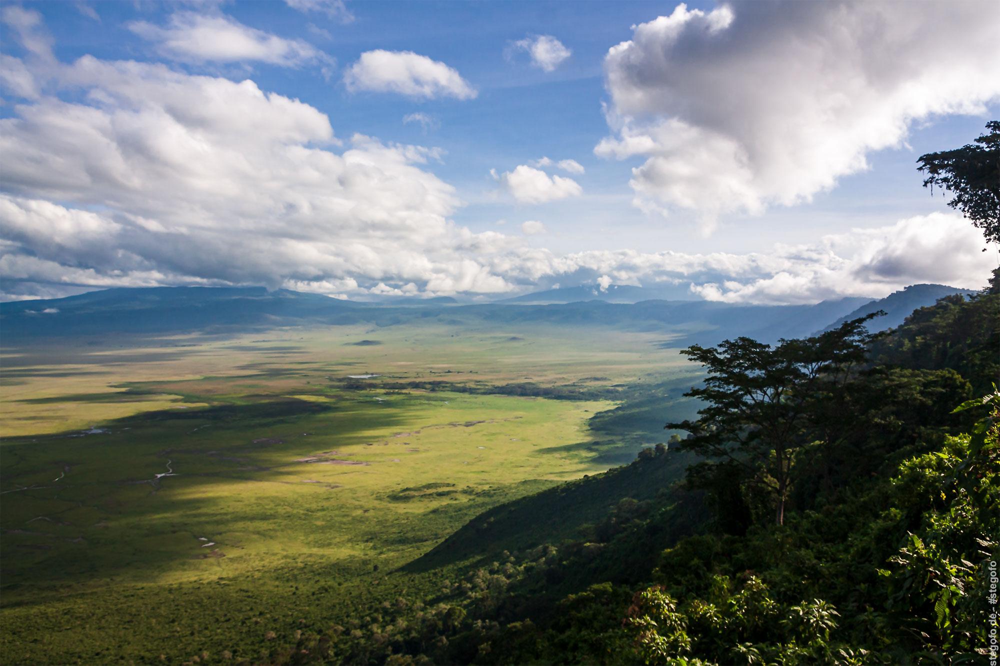 Der Ngorongoro Krater