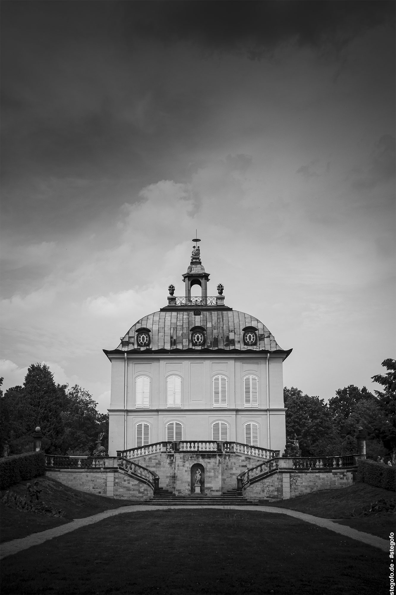 Das Fasanenschlösschen in Moritzburg