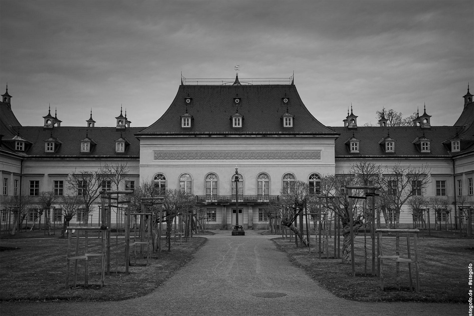 Das Schloß Pillnitz