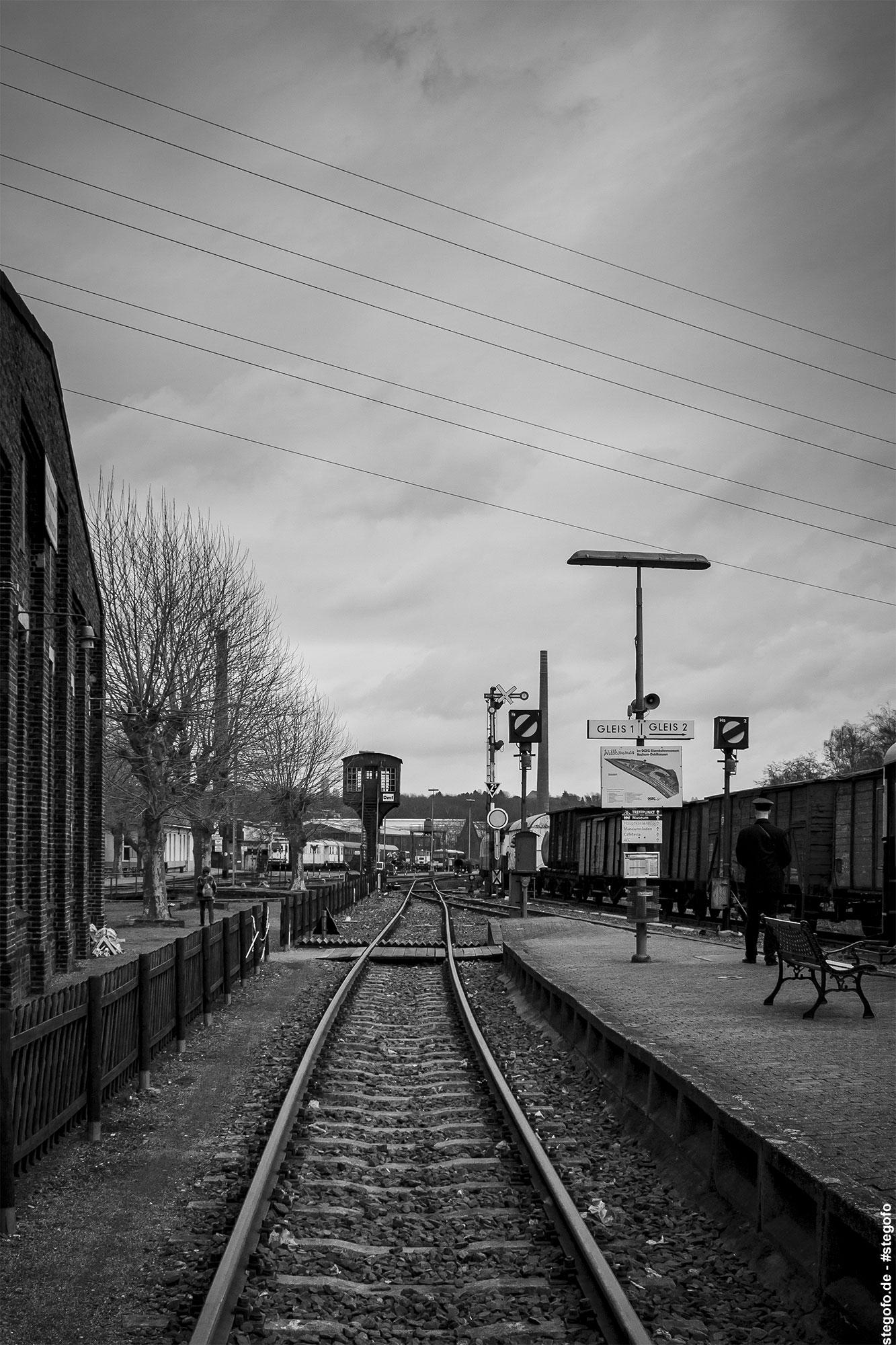 Der Weg über die Schienen