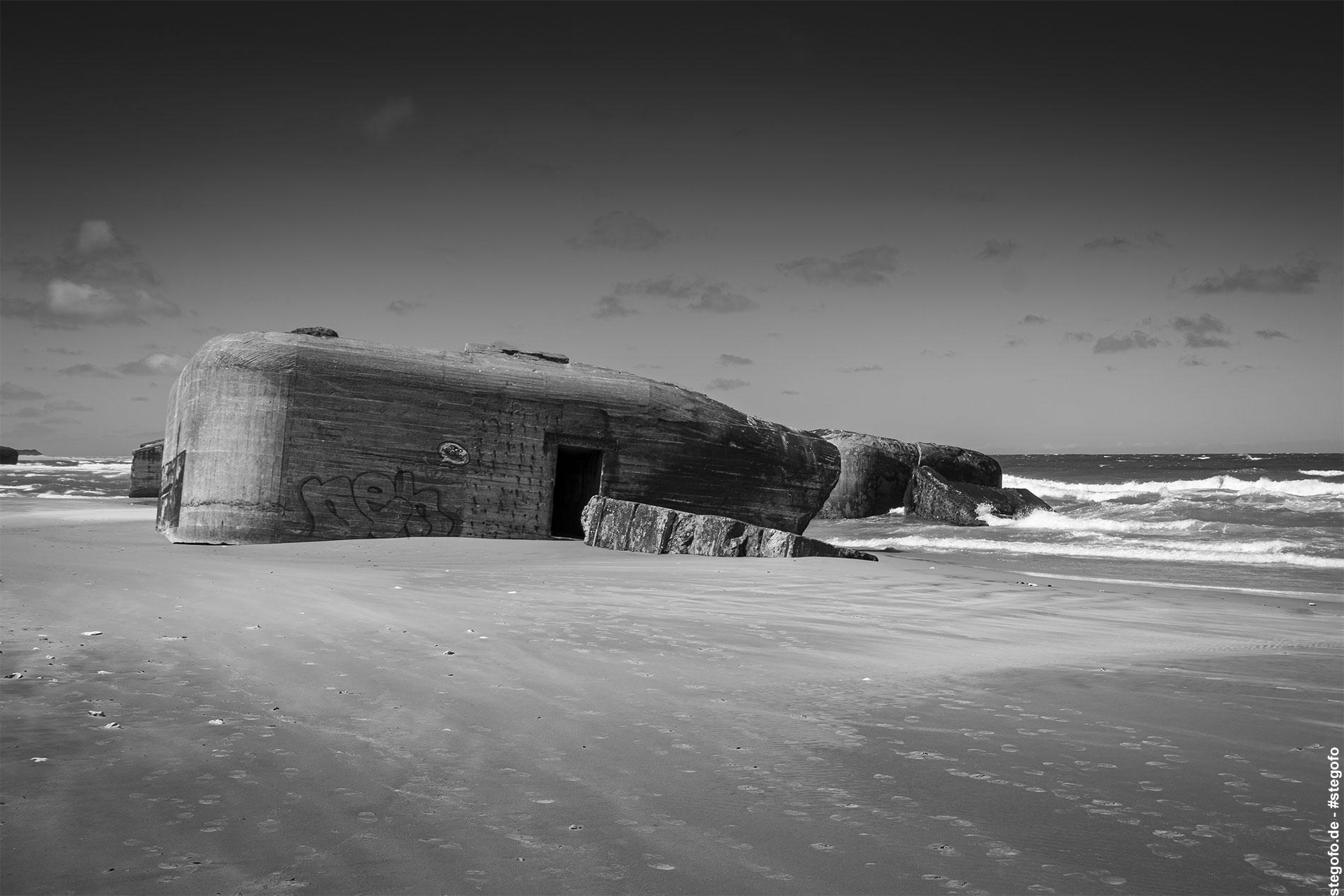 Der Strand und die Bunker (05.2019)