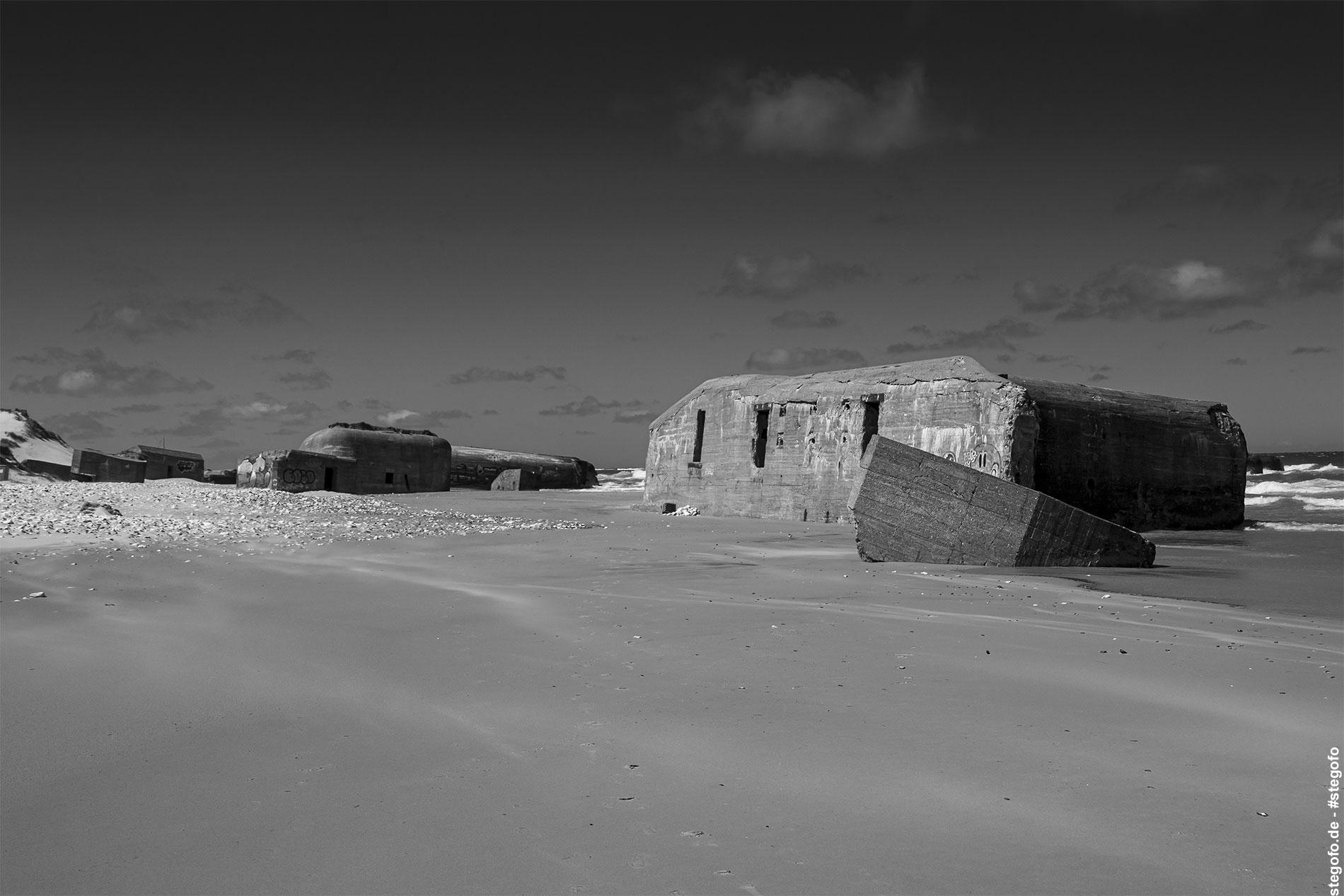 Der verlassende Strand