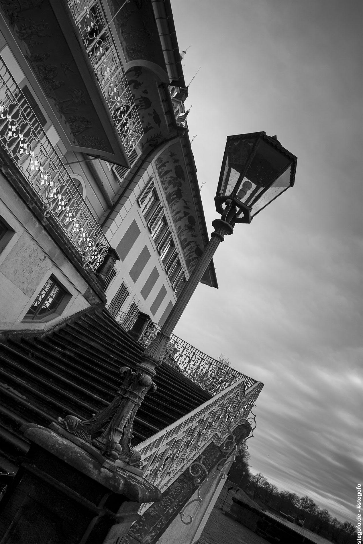 Die Schlosstreppe