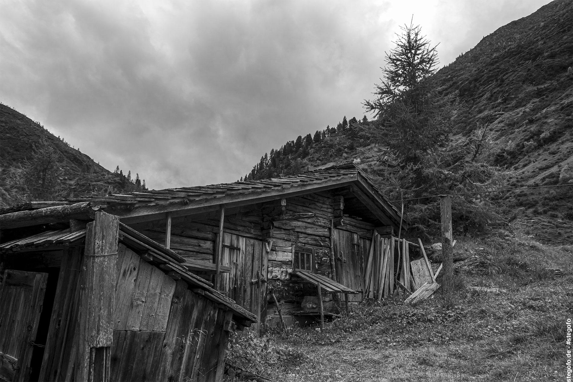 Die verlassene Hütte